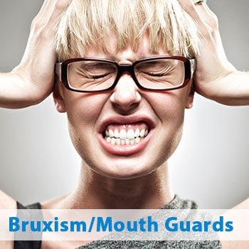 patient with bruxism