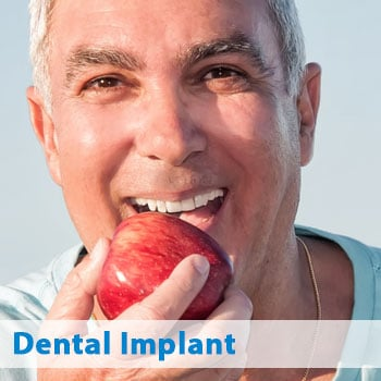 dental implant patient